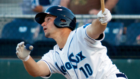 Mike Zunino has a 1.119 OPS in his first 28 games with the AquaSox.